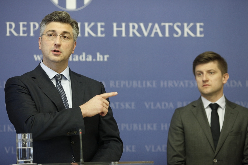 Image result for ministar marić plenković